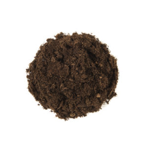 coarse fraction peat substrate