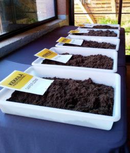 Different types of materials and soil